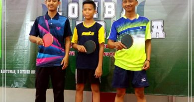 Santri PP. Ath-Thohiriyyah Mendapat Juara 2 Tenis Meja Hari Santri 2019